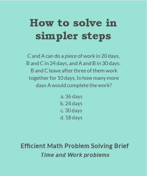Problem Solving - Google+
