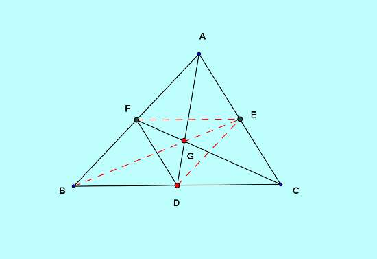 Basic and rich Geometry concepts part 5-2 medians segment ratio proof