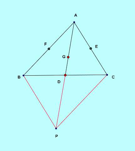Basic and rich Geometry concepts part 5-3 medians sides relation