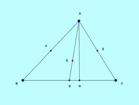 Basic and rich Geometry concepts part 5-4 medians sides square relation