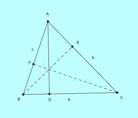 Basic and rich Geometry concepts part 7-1 laws of sines proof