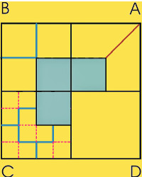 Four square problem 3rd solution