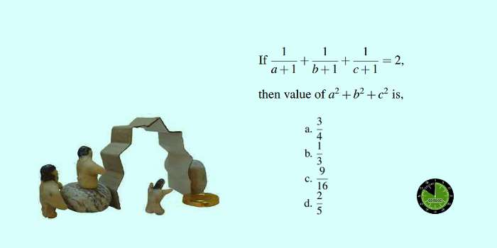 How to solve difficult SSC CGL algebra problems in a few steps 13