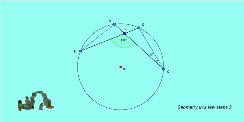 How to solve difficult SSC CGL geometry problems in a few steps 2g