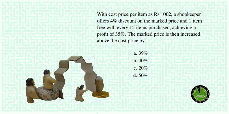 How to solve difficult SSC CGL profit loss problems in a few steps 4