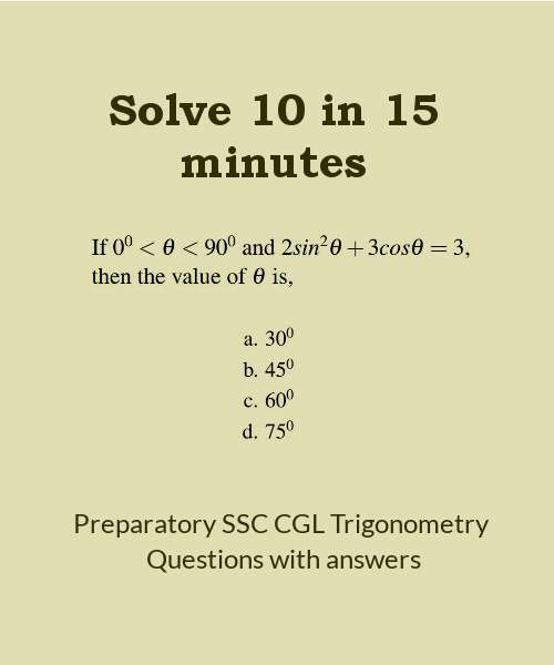 Preparatory-SSC-CGL-level-questions-with-answers-trigonometry-1