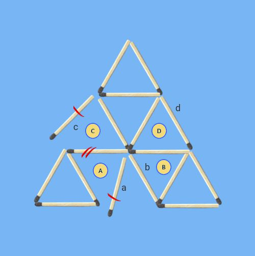 Remove-2-sticks-to-leave-6-triangles-invalid-solutions