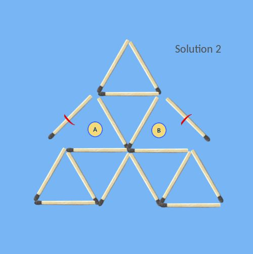 Remove-2-sticks-to-leave-6-triangles-solution-2