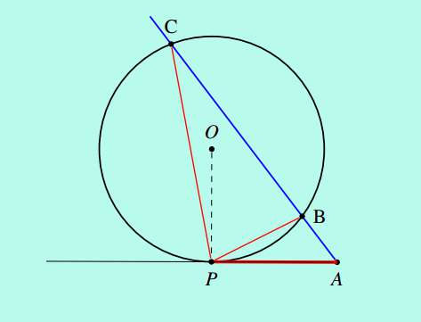 SSC CGL level Solution set 39 geometry 7-9-2 secant of a circle