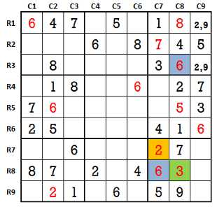 Sudoku second level game-1-4