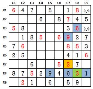 Sudoku second level game-1-5
