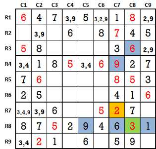 Sudoku second level game-1-6