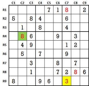 Sudoku second level game 2-2