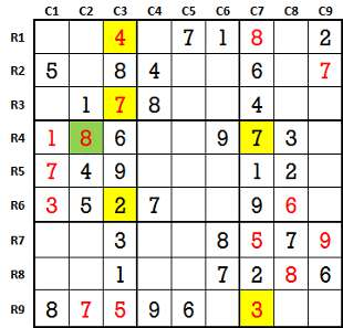 Sudoku second level game-2-3