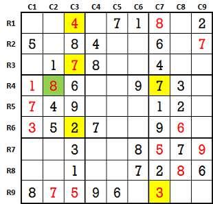 Sudoku second level game-2-3