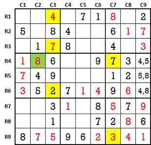 Sudoku second level game-2-5