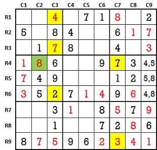Sudoku second level game-2-5