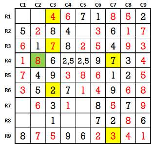 Sudoku second level game-2-6