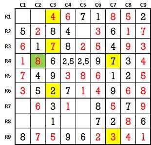 Sudoku second level game-2-6