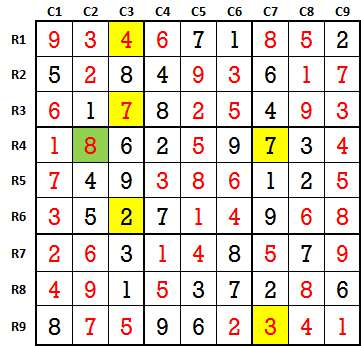 Sudoku second level game 2 solved