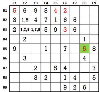 Sudoku second level game 3-2