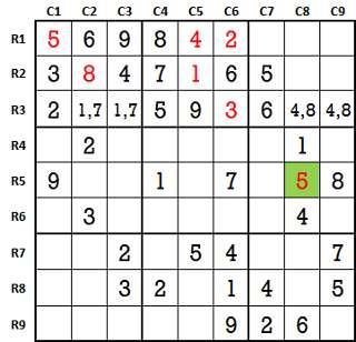 Sudoku second level game 3-3