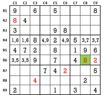 Sudoku second level game 4-2