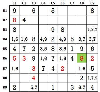 Sudoku second level game 4-3