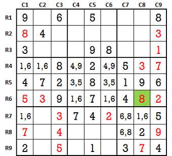 Sudoku second level game 4-4