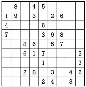 Sudoku second level game-5-1