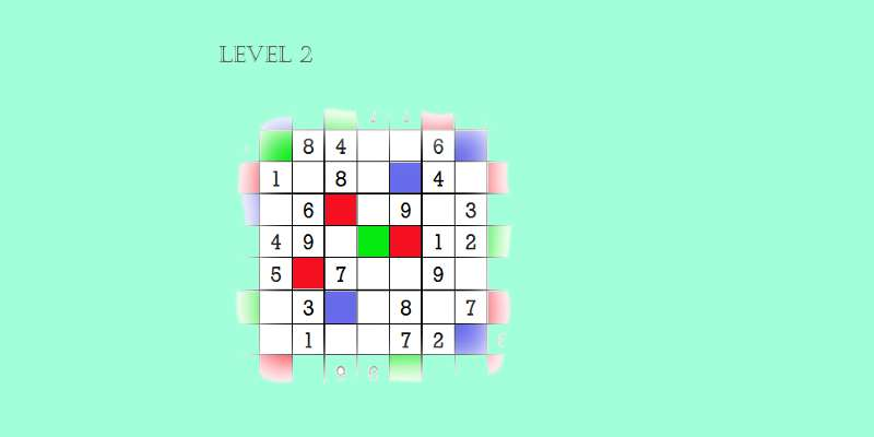 Sudoku second level game play 2