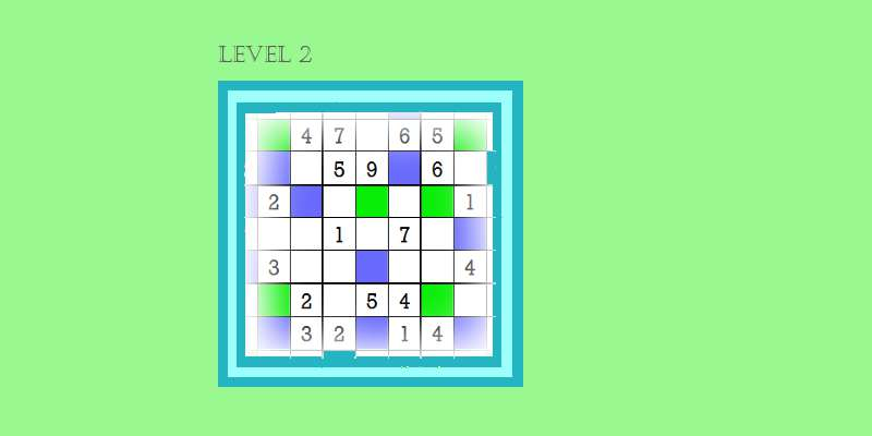 Sudoku second level game play 3