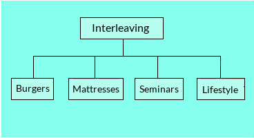 Concept structure of interleaving