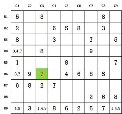 interesting Sudoku game play 1-1