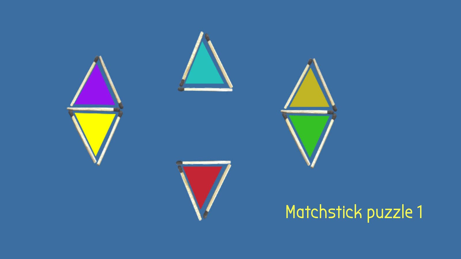 Matchstick puzzle 1