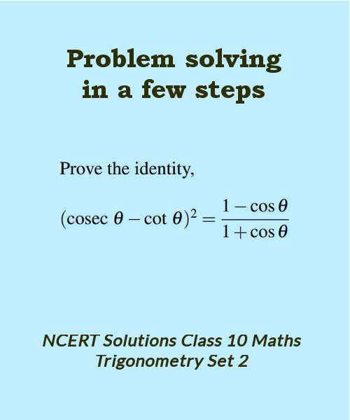 ncert solutions class 10 maths trigonometry set 2