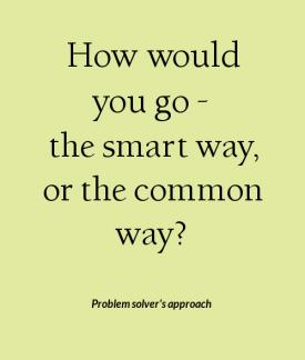 problem solvers approach