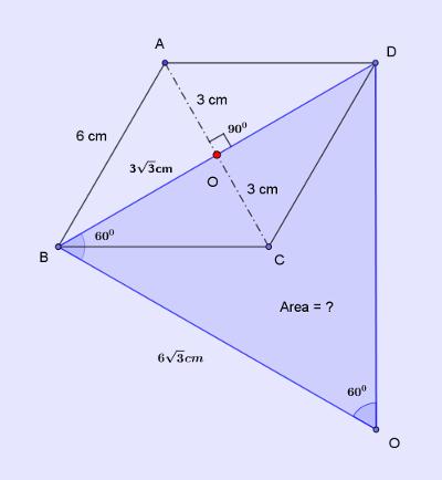 ssc-cgl-88-mensuration-8-q10-rhombus