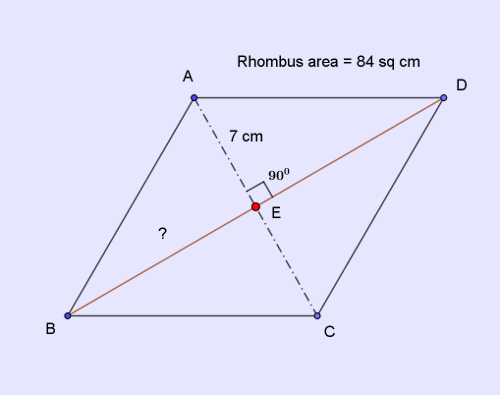 ssc-cgl-88-mensuration-8-q9-rhombus
