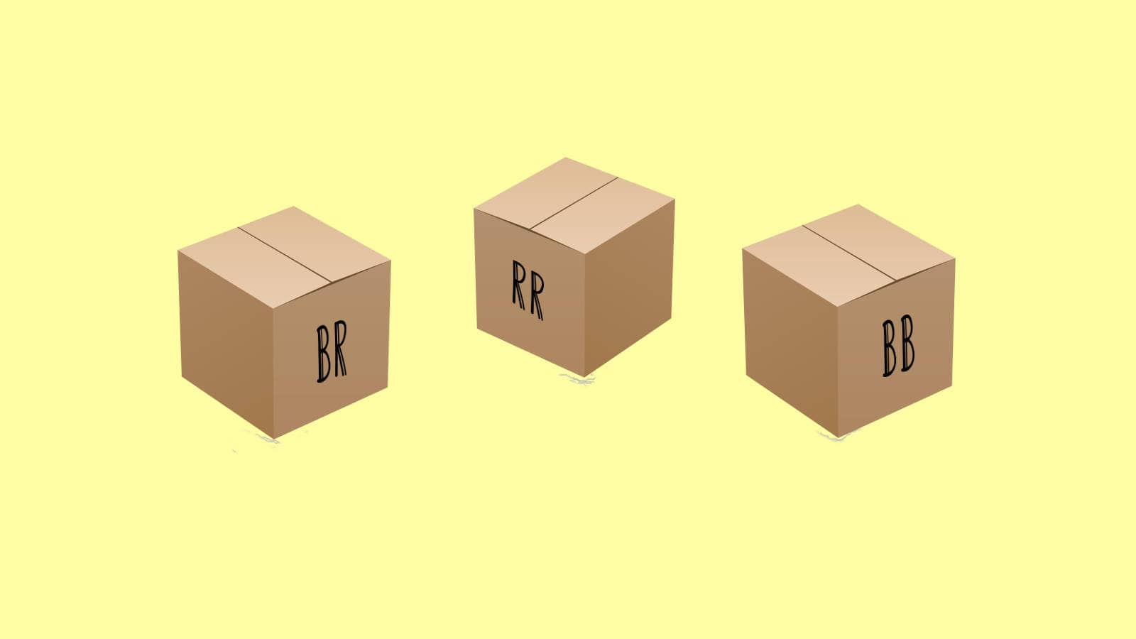 three boxes riddle