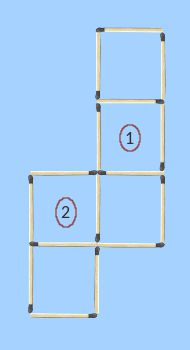 two suitable squares identified