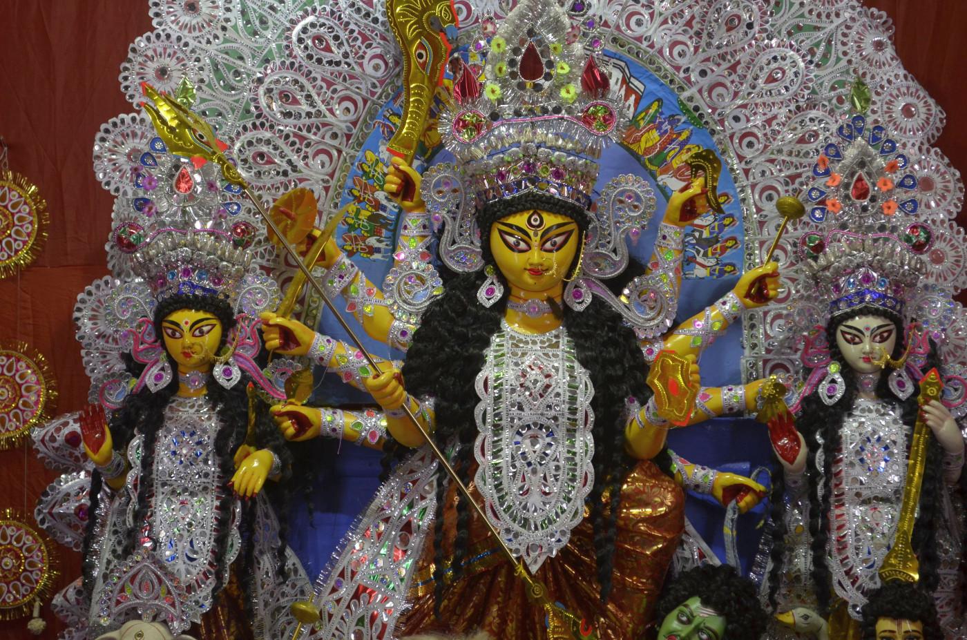 Our own Ma Durga, Kolkata Durga Puja 2015