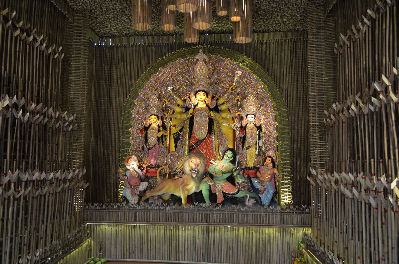 Highlighted idol, Kolkata Durga Puja 2015